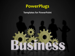 PowerPoint Template - An abstract business background